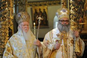 Συγχαρητήριο μήνυμα του Οικουμενικού Πατριάρχη στον Αντιοχείας Ιωάννη