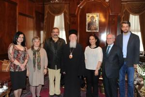 Υποψήφιοι δήμαρχοι του HDP στον Πατριάρχη Βαρθολομαίο