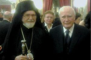 Συνάντηση Προέδρου Παπούλια με τον Μητροπολίτη Ιταλίας