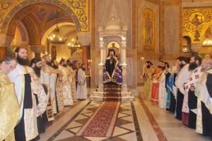 Ο Εσπερινός της Συγγνώμης στον Ι.Ν. Αγίου Ανδρέου Πατρών