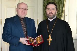 Εκπρόσωπος της Ρωσικής Εκκλησίας στον Υπουργό Πολιτισμού της Τσεχίας