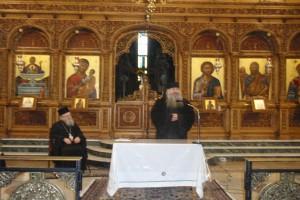 Ομιλίες του Καθηγουμένου της Ι. Σκήτης Αγίου Ανδρέου στην Ι.Μ. Αιτωλίας