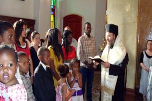 Πρώτη ομαδική βάπτιση των παιδιών του Ν. Σουδάν