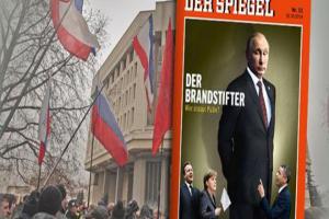 Το περιοδικό Spiegel παρουσιάζει τον Πούτιν ως επιβλητικό γίγαντα: «Ποιος θα τον σταματήσει;»