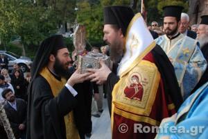 Υποδοχή Τιμίας Κάρας του Αγίου Ραφαήλ στην Αγία Σοφία Ν. Ψυχικού (ΦΩΤΟ)