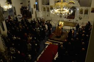 Η Δ΄ Στάση των Χαιρετισμών στον Ι.Ν. Αγίου Φωτίου Θεσσαλονίκης