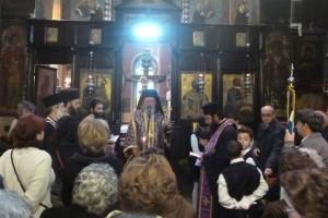 Εορτή των Αγίων Μαρτύρων Χρυσάνθου και Δαρείας στη Χαλκίδα