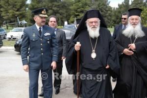 """Αρχιεπίσκοπος: """"Υπηρετείτε το πιο ιερό πράγμα, που είναι η Πατρίδα"""" (ΦΩΤΟ)"""
