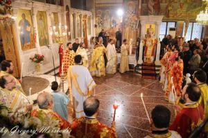 Εορτή Αγίου Γεωργίου στο Νέο Κόσμο (ΦΩΤΟ)