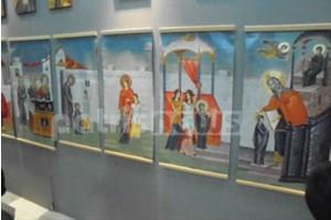 Έκθεση Ζωγραφικής και Αγιογραφίας της Ι.Μ. Ηλείας