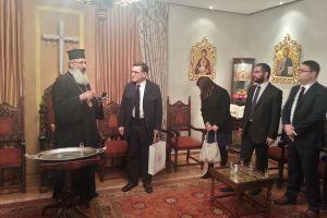 Συνάντηση Αλεξανδρουπόλεως με μέλη της Ελληνικής Διπλωματικής Ακαδημίας