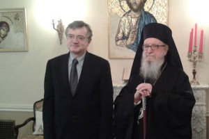 Συνάντηση ΥΦΥΠΕΞ με τον Aρχιεπίσκοπο Αμερικής
