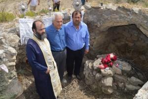 Aνασκαφή στα ερείπια ιερού προσκυνήματος