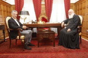 Την ευρύτερη συνεργασία Εκκλησίας-Πολιτείας πρότεινε στον Αρχιεπίσκοπο ο Α. Σπηλιωτόπουλος