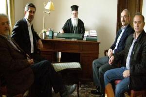 Επίσκεψη υποψηφίου Δημάρχου Αρταίων στον Μητροπολίτη Ιγνάτιο
