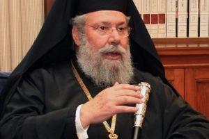 """Αρχιεπίσκοπος Κύπρου: """"Καθήκον της Εκκλησίας να σταθεί δίπλα στον λαό"""""""