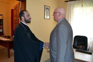 Επίσκεψη Πρέσβη της Ρωσίας στην Επισκοπή Μπραζαβίλ
