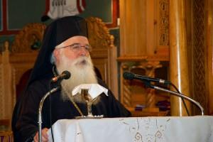 Ομιλία του Δημητριάδος Ιγνατίου στην Ορθόδοξη Ακαδημία Κρήτης