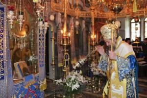 Ο Δράμας Παύλος στη Σκήτη Αγίου Δημητρίου – Λάκκου (ΦΩΤΟ)