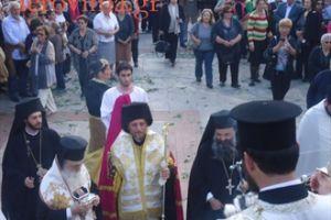 Υποδοχή λειψάνων του Αγίου Ευγενίου στο Ελληνικό