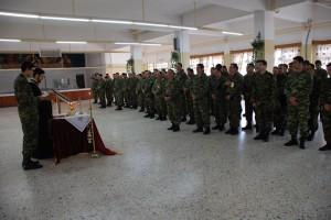 Το ιερό ευχέλαιο σε στρατιωτικές μονάδες του Έβρου