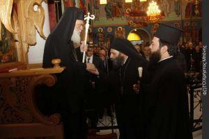 Χοροστασία του Αρχιεπισκόπου Αθηνών στον Όρθρο της Μ.Τρίτης