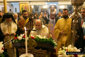Ο Πατριάρχης Ιεροσολύμων στη Ραμάλα (VIDEO)