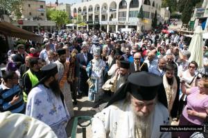 Ο Ευαγγελισμός της Θεοτόκου στο Πατριαρχείο Ιεροσολύμων (ΦΩΤΟ)