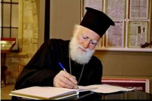 Ο αρχιεπίσκοπος Κρήτης στη Βουλή!