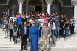 Μαθητές Λυκείου στον Αρχιεπίσκοπο Κύπρου