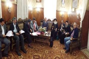 Υπεγράφη η συμφωνία στο Σιμπίν Ελ Κομ για την εκκλησία του Αγ. Σπυρίδωνος