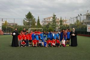 Φιλικός αγώνας ποδοσφαίρου μεταξύ Κατηχητικών Ομάδων στην Πάτρα
