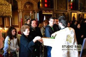 Ναύπλιο: H πρώτη Ανάσταση στον Ι.Ν. Αγίας Τριάδος