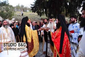 Η εορτή της Ζωοδόχου Πηγής στην Αγία Μονή Ναυπλίου