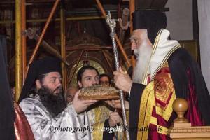 Εσπερινός του Αγίου Γεωργίου στην Αργυρούπολη