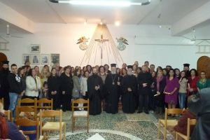 Εορτή λήξης των σεμιναρίων νοηματικής στην Ι.Μ. Χαλκίδος