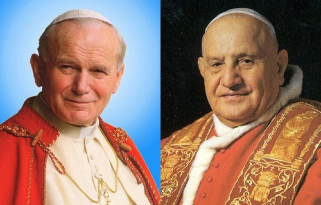 Εκατομμύρια πιστoί στη Ρώμη για την Αγιοκατάταξη των Παπών Ιωάννη 23ου και Ιωάννη Παύλου 2ου