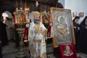 Η εορτή της εύρεσης της Παναγίας τη Πορταΐτισσας της Ι.Μονής Ιβήρων