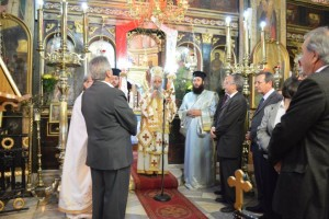 Η εορτή του προσκυνήματος της Παναγίας Γλυκοφιλούσας στη Σαλαμίνα
