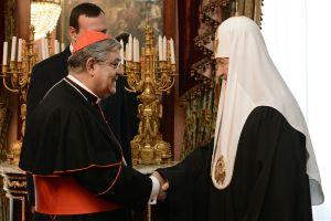 Ο Καρδινάλιος Σέπε στον Πατριάρχη Μόσχας