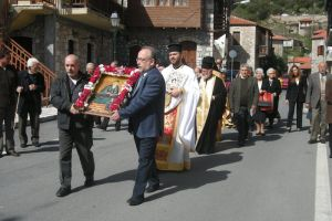 Εορτασμός Οσίου Λεοντίου του εκ Στεμνίτσης στην γενέτειρά του