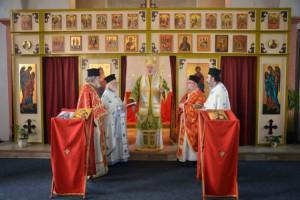 Η πρώτη Θεία Λειτουργία στον Ι.Ναό Οσίου Πορφυρίου στο Τίλμπουργκ