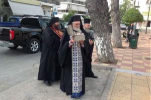 Η Τιμία Κάρα του Αγίου Παρθενίου στον Ι.Ν.Αγίου Ιωάννου Σεπολίων