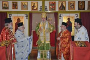 Θεία Λειτουργία στη νέα ενορία του Οσίου Πορφυρίου στο Τίλμπουργκ (ΦΩΤΟ)