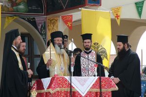 Η εορτή του Αγίου Γεωργίου στο Στρατόπεδο «Πατσούκα»