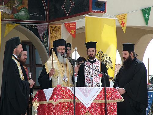 You are currently viewing Η εορτή του Αγίου Γεωργίου στο Στρατόπεδο «Πατσούκα»