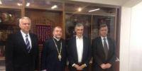 Συνάντηση Σπηλιωτόπουλου με τον Αρχιεπίσκοπο των Αρμενίων