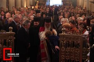 Ο Αρχιεπίσκοπος στην πρώτη μητρόπολη των Αθηνών