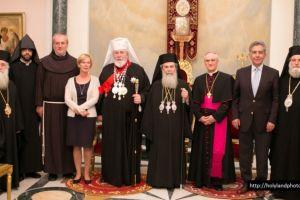 Επίσημη επίσκεψη Αρχιεπισκόπου Φιλλανδίας στο Πατριαρχείο Ιεροσολύμων