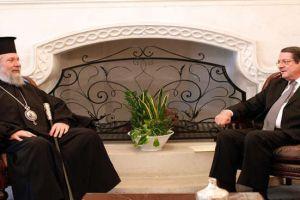 """Αρχιεπίσκοπος Κύπρου: """"Πιστεύω ότι βαδίζουμε σωστά"""""""